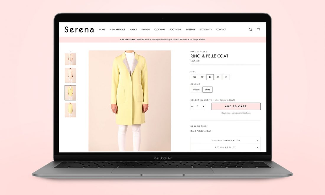 Product-Page-Serena-Macbook-Shopify eCommerce